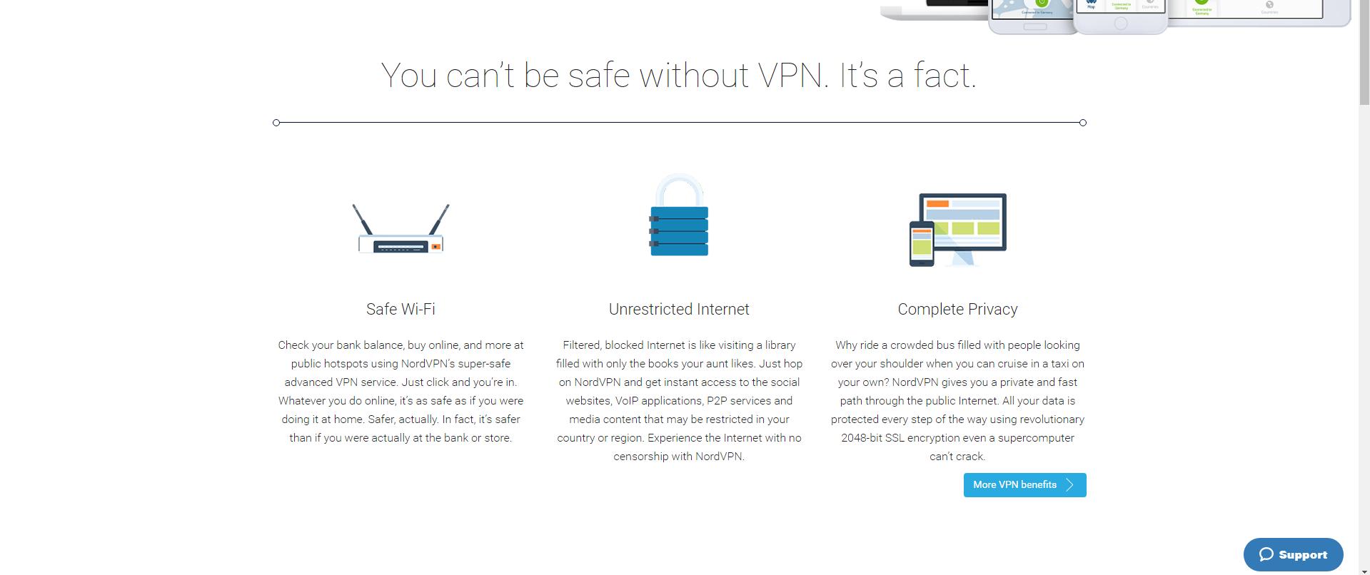Best private internet service provider