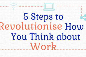 5 steps to Revolutionise how you think about work 300x200 - Smart Working Infographic