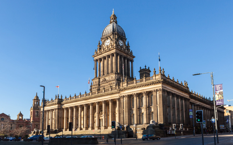 Leeds Town Hall - Confidence is High in Manchester's Property Boom